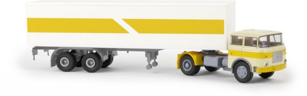 LIAZ 706 Koffer-SZ hellelfenbein/gelb