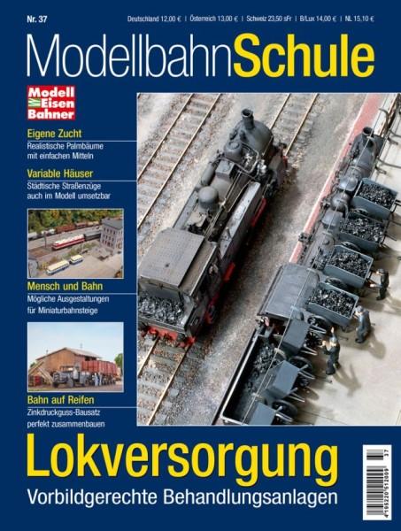 Modellbahn Schule: Lokversorgung
