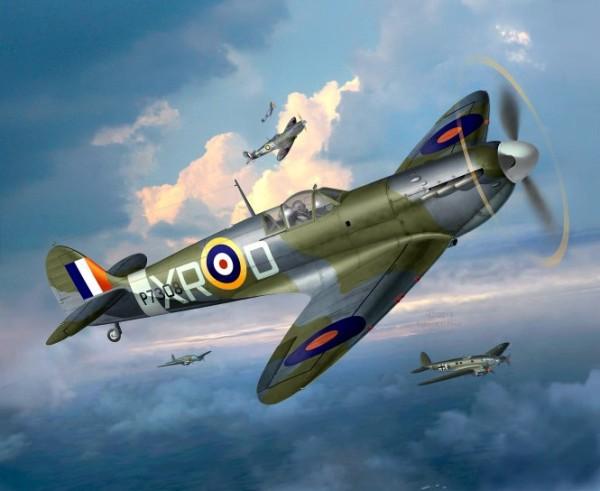 1:48-Supermarine Spitfire Mk.II