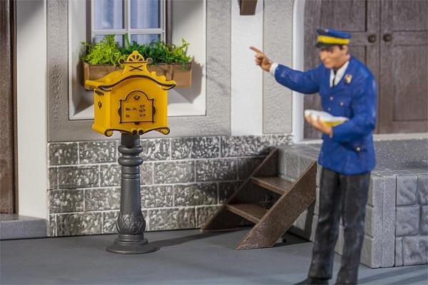G-Briefkasten mit Standsäule