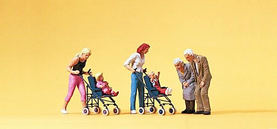 Mütter,Kinder,Großeltern