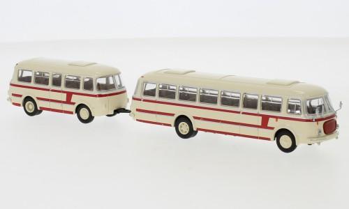 JZS Jelcz 043 Bus mit P-01 Anhänger