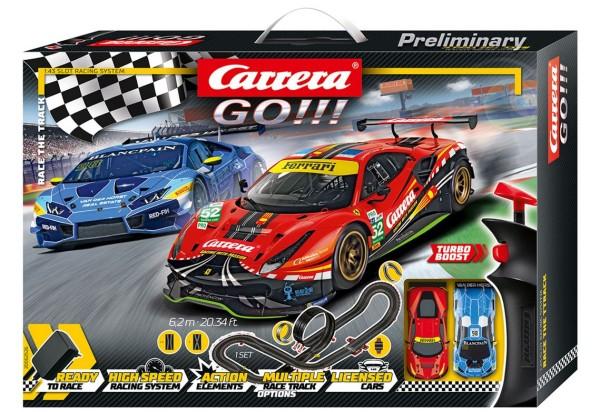 Carrera GO!!! Race the Track