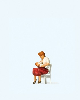 Stillende Mutter