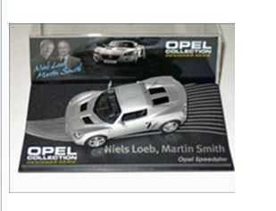 1:43-Atlas Opel Speedster - silver