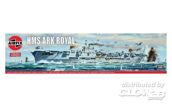1:600-HMS Ark Royal, Vintage Classics