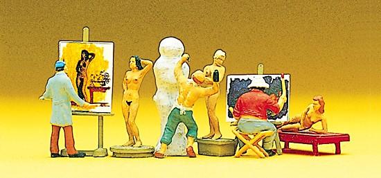 Maler, Bildhauer, Modelle