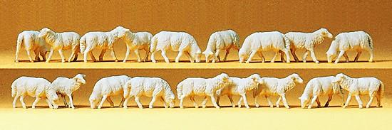 Schafe, 18 Stück sortiert