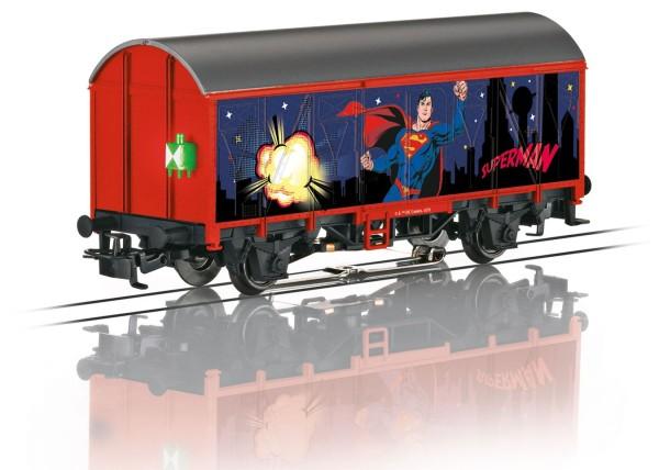 Start up - Gedeckter Güterwagen Superman