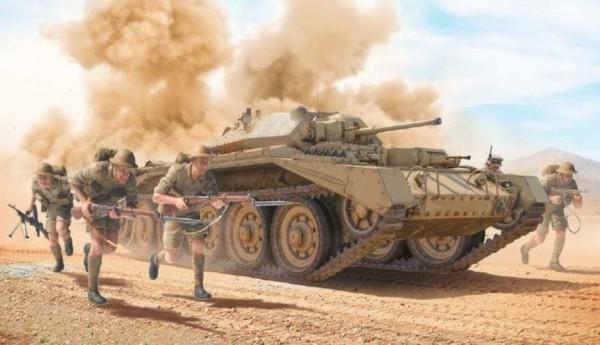 1:35 Crusader Mk.II m. Inf. Fig. (5)