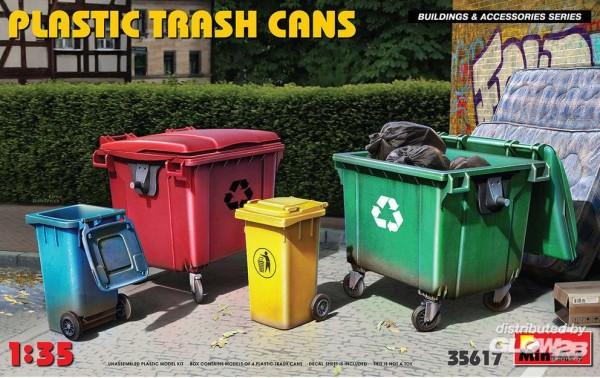 1:35-Plastic Trash Cans