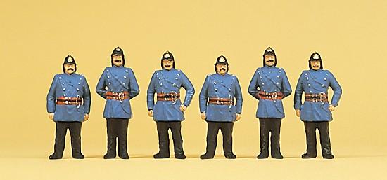 Feuerwehrmänner. Um 1900