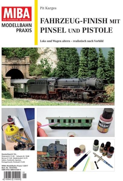 MB-Praxis: Fahrzeug-Finish mit Pinsel