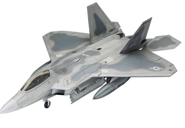 1:72-Lockheed Martin F-22A Raptor