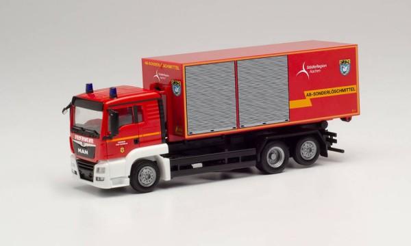 MAN TGS XL Wechsellader-LKW, Feuerwehr