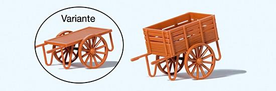 Bahnsteigkarre. Fertigmodell