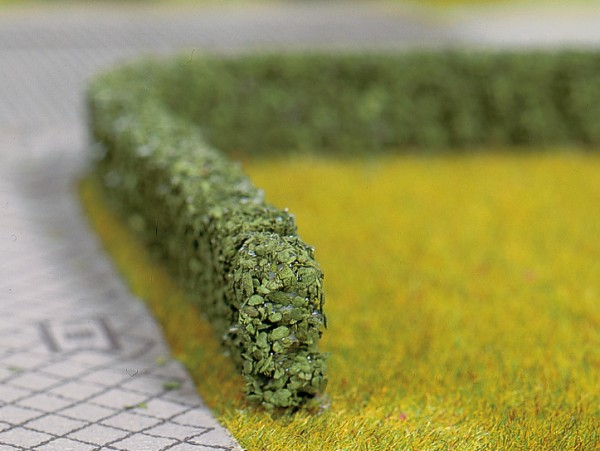 H0/TT/N-Hecken, dunkelgrün, 10 x 6 mm