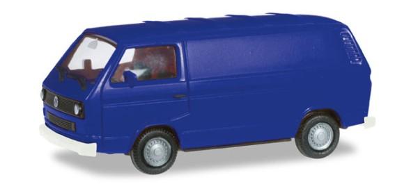 VW T3 Kasten, ultramarinblau