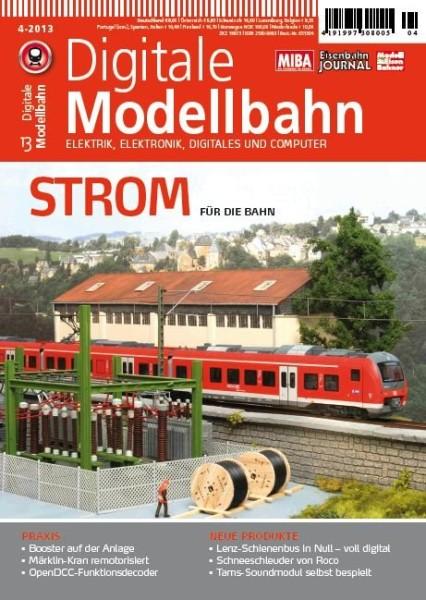 Digitale Modellbahn: Strom für die Bahn