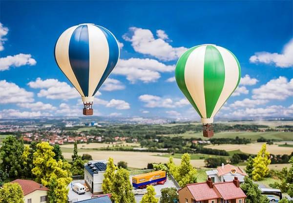 N-Aktions-Set: 2 Heißluftballons
