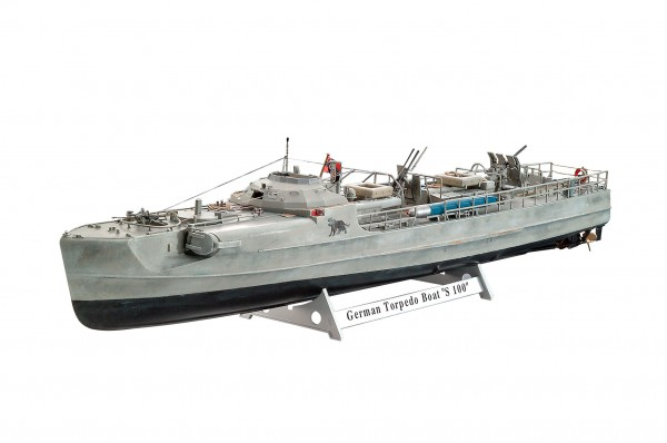 1:72-German Fast Attack Craft S-100