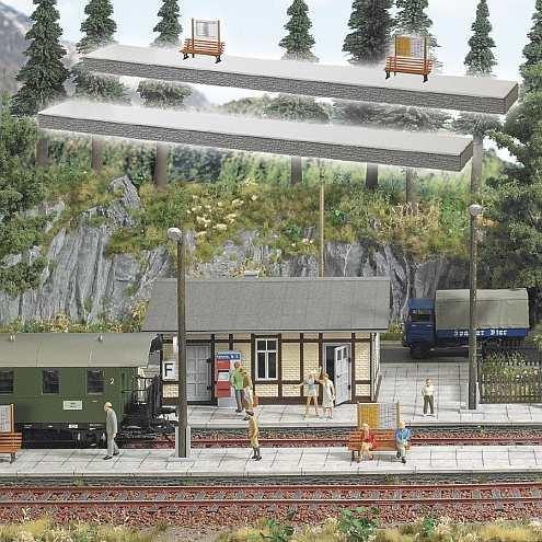 0-Bahnsteig, 446x61x18mm hoch