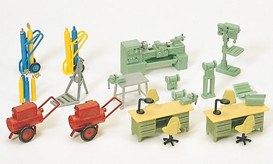 Werkstatteinrichtung. Bau