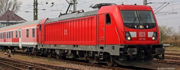 H0-E-Lok BR 187 DB AG, Ep.VI, DC-Sound