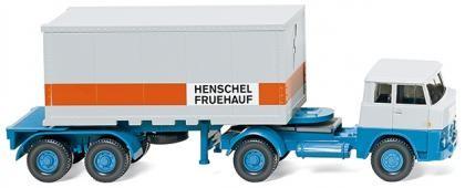 Containersattelzug (Henschel)