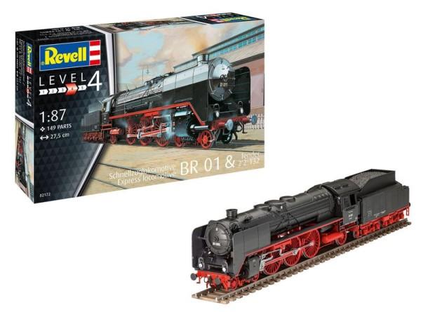 1:87-Schnellzuglokomotive BR 01 & Tender