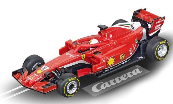 Ferrari SF71H, S. Vettel, No.5