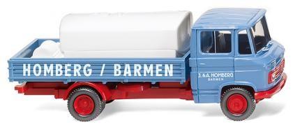 Pritschenwagen mit Aufsetztank, MB L 408