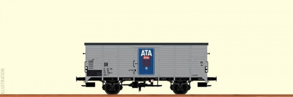 Gedeckter Güterwagen G10,ATA, DR, Ep.4