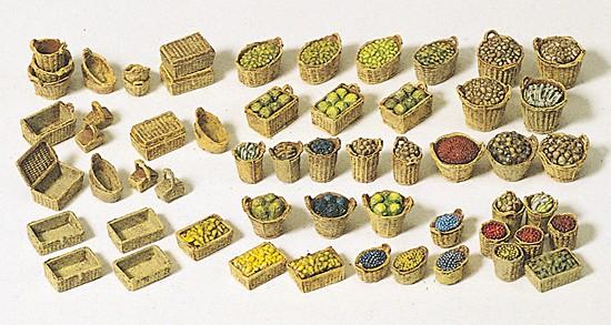 Körbe,Obst,Gemüse(lose),Markt,Bausatz