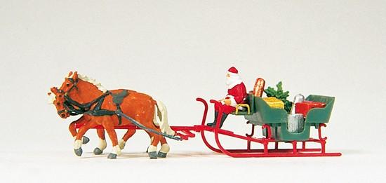 Schlitten, Weihnachtsmann, Fertigmodell