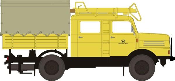 IFA S 4000-1 Bautruppwagen, gelb, Post