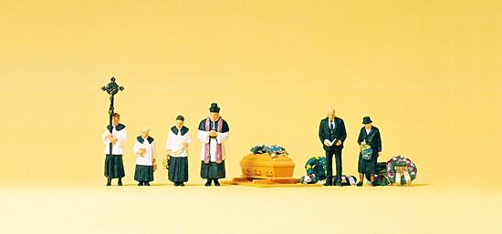 Beerdigung mit katholischen Geistlichen