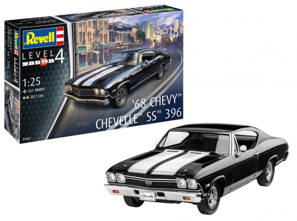 1:25-1968 Chevy Chevelle SS 396