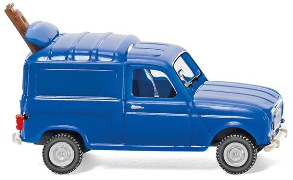 Renault R4 Kastenwagen - blau