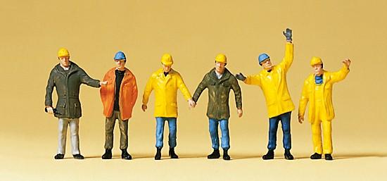 Arbeiter mit Schutzkleidung