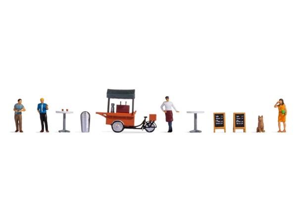H0-Figuren-Themenwelt, Kaffeestand