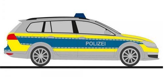 VW-Golf 7 Variant Polizei Niedersachsen