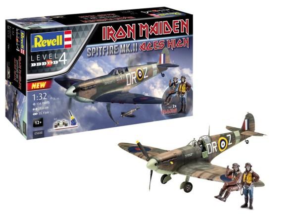 1:32-Spitfire Mk.II Aces High Iron Mai