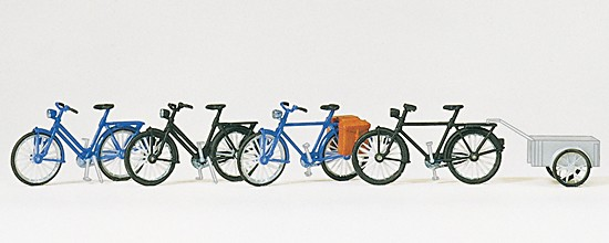 Fahrräder + Fahrradanhänger