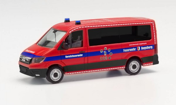 MAN TGE Bus FD, Feuerwehr Augsburg