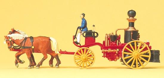 Dampfspritze. Um 1900. Fertigmodell