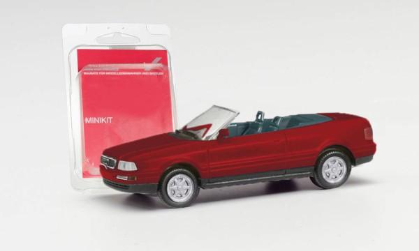 MiniKit: Audi 80 Cabrio, weinrot