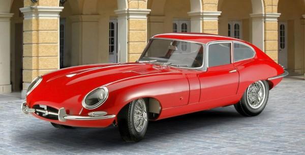 1:24-Jaguar E-Type (Coupé)
