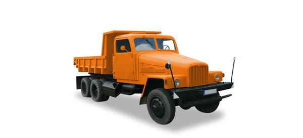 IFA G 5 Muldenkipper, orange