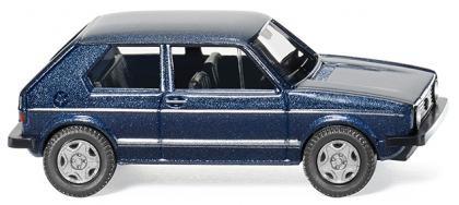 VW Golf I GTI - heliosblau metallic